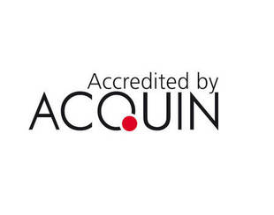 Accredited by Acquin
